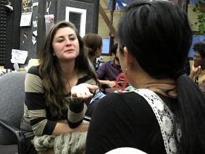 Academy member Liza Veale talks shop with KALW News managing editor Jen Chien