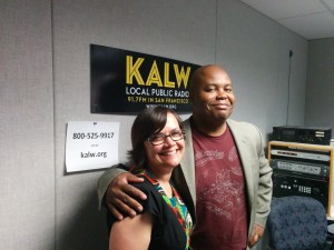 It's Snapcurrents!  Managing Producer Julie Caine and Snap Judgement host Glynn Washington cohosted a Crosscurrents show during the KALW membership drive.  Snapsuccess!