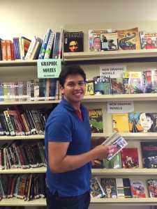 Jaime Velis checks out graphic novels for inspiration.